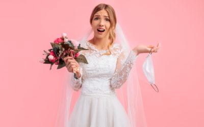 Hochzeit trotz Corona: Tipps & Tricks, wie man die Maßnahmen stilsicher in den eigenen Hochzeitsablauf einbinden kann
