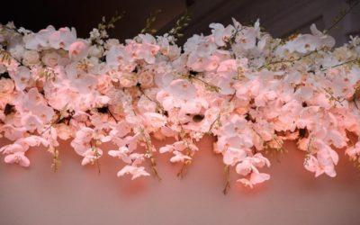 Die Flower Wall als Eye Catcher auf Eurer Hochzeit